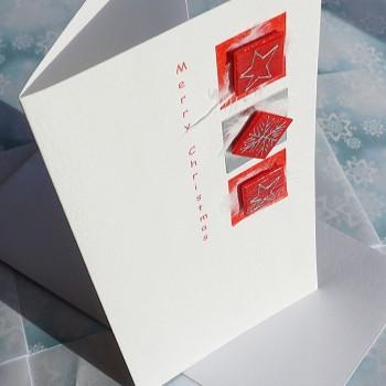"Handmade Christmas Card Multipack ""Xmas Trio"""