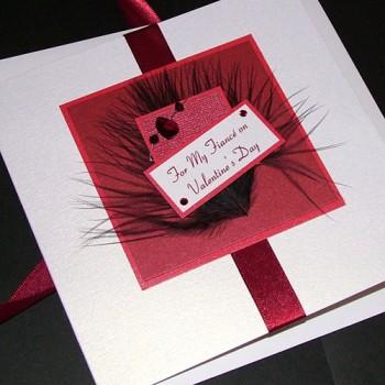 "Valentine's Day Card ""Fizz"""