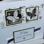 Vintage Butterflies Boxed Birthday Card