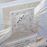 Ivory & Cream Wedding Card