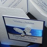 Harris Pocketfold Wedding Invitations